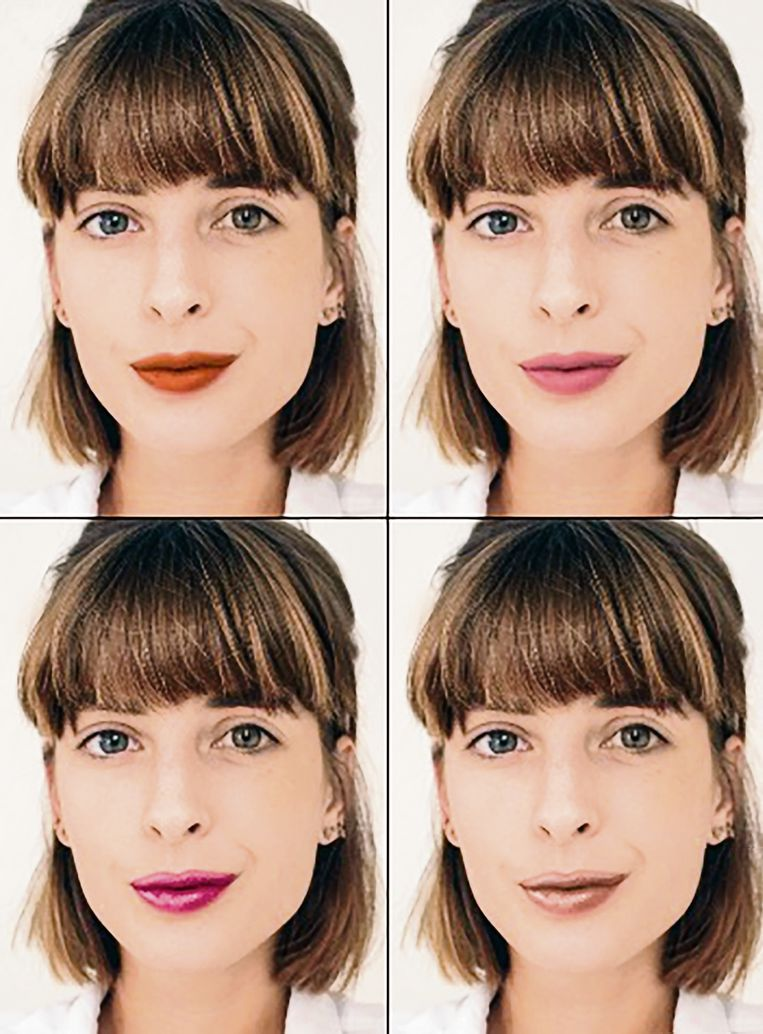 Beautyredactrice Sophie test de Virtual Try-On-tool van Maybelline.