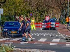 Zondag wel 'beheersbaar', druk met fietsers en wandelaars in natuur