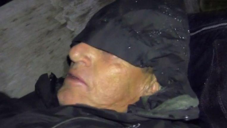 Henny Huisman in Wie Overleeft Nederland. Beeld Screenshot