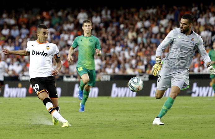 Rodrigo (aanvoerder Valencia).