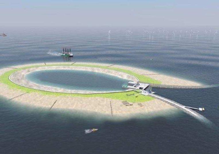 De plannen voor een energie-atol werden in het verleden geschrapt