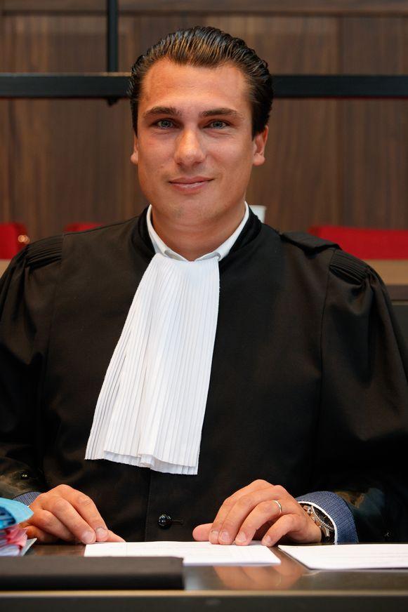 Advocaat Maxime Van Winckel.