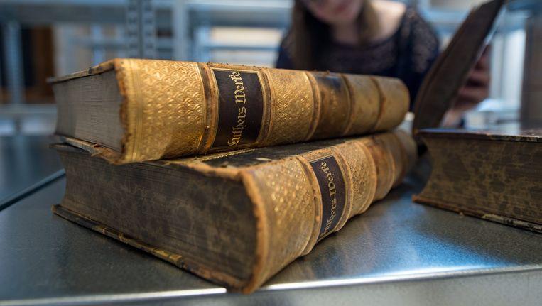 Een editie van het werk van Luther. Beeld anp