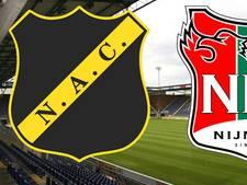 Eerste finalewedstrijd mini-klassieker NAC - NEC