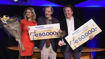 Bookspot Literatuurprijs naar Nederlanders Te Gussinklo en Scheijen