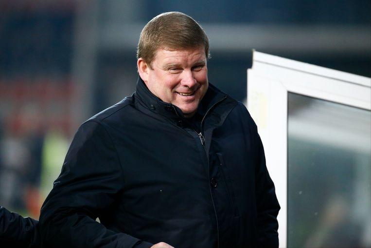 De spelersgroep wil geaaid worden, dus benadrukt Vanhaezebrouck het positieve én kijkt hij weer omhoog in de rangschikking.