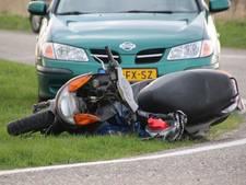 Gewonde na aanrijding met scooter bij Marknesse