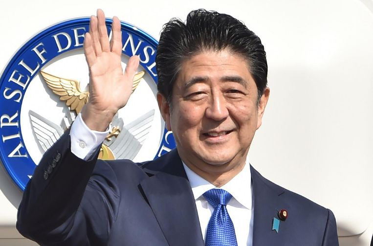 Premier Sinzo Abe Beeld afp