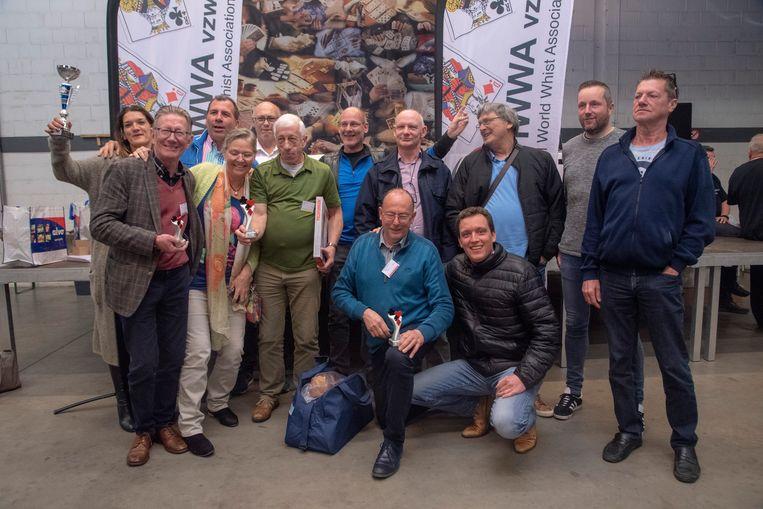 BK Wiezen in Kalken : de finalisten.