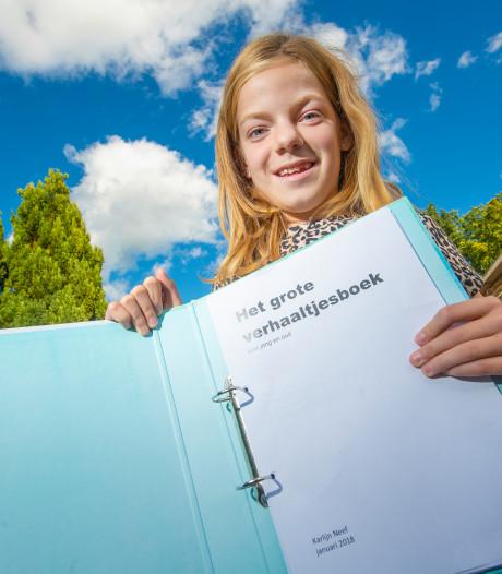 Apeldoornse Karlijn (10) schrijft boek voor zieke kinderen