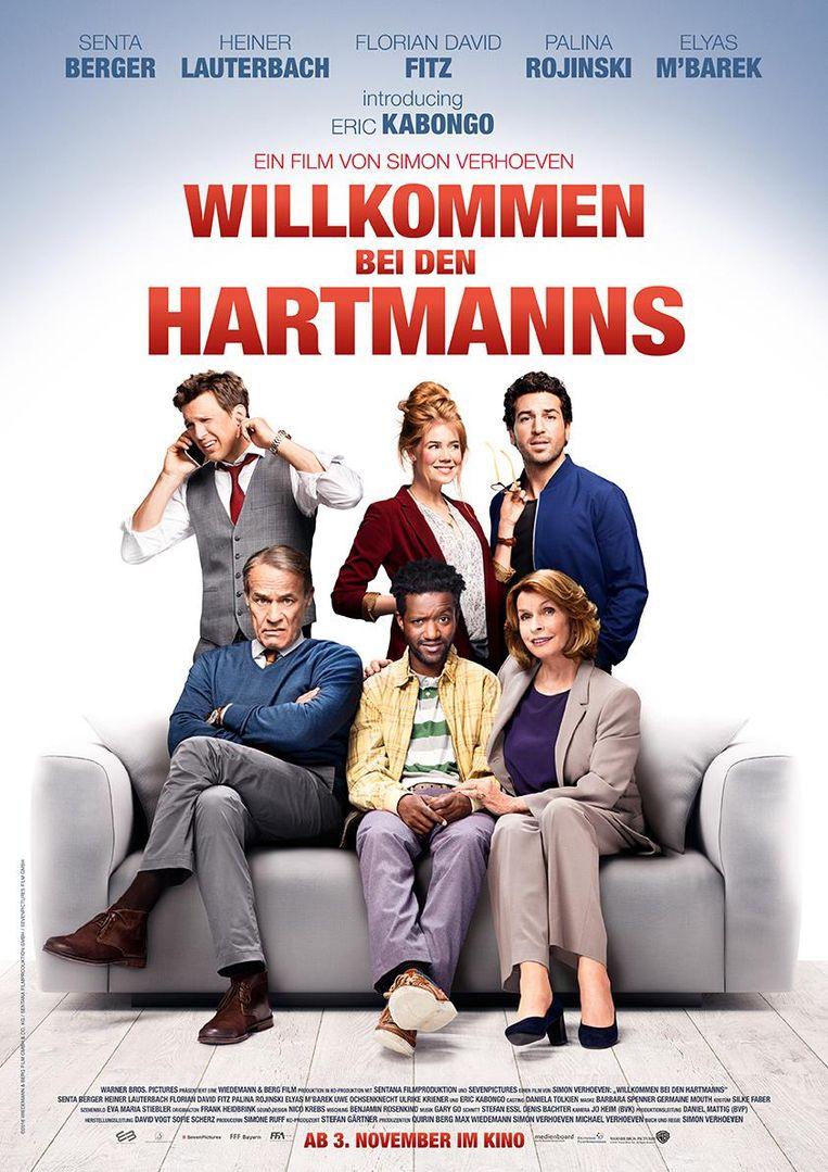 De affiche van de film waarin Eric een hoofdrol speelt.