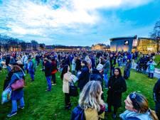 Demonstratie Museumplein afgebroken wegens schenden coronaregels