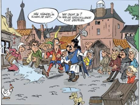 Ridder Dolf uit Kampen deelt rake klappen uit in Harderwijk