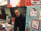 Sint kost markt in Apeldoorn klanten