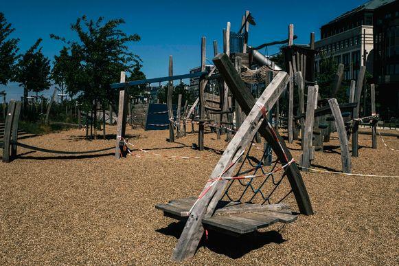 Speeltuinen zijn nog altijd verboden terrein voor kinderen.