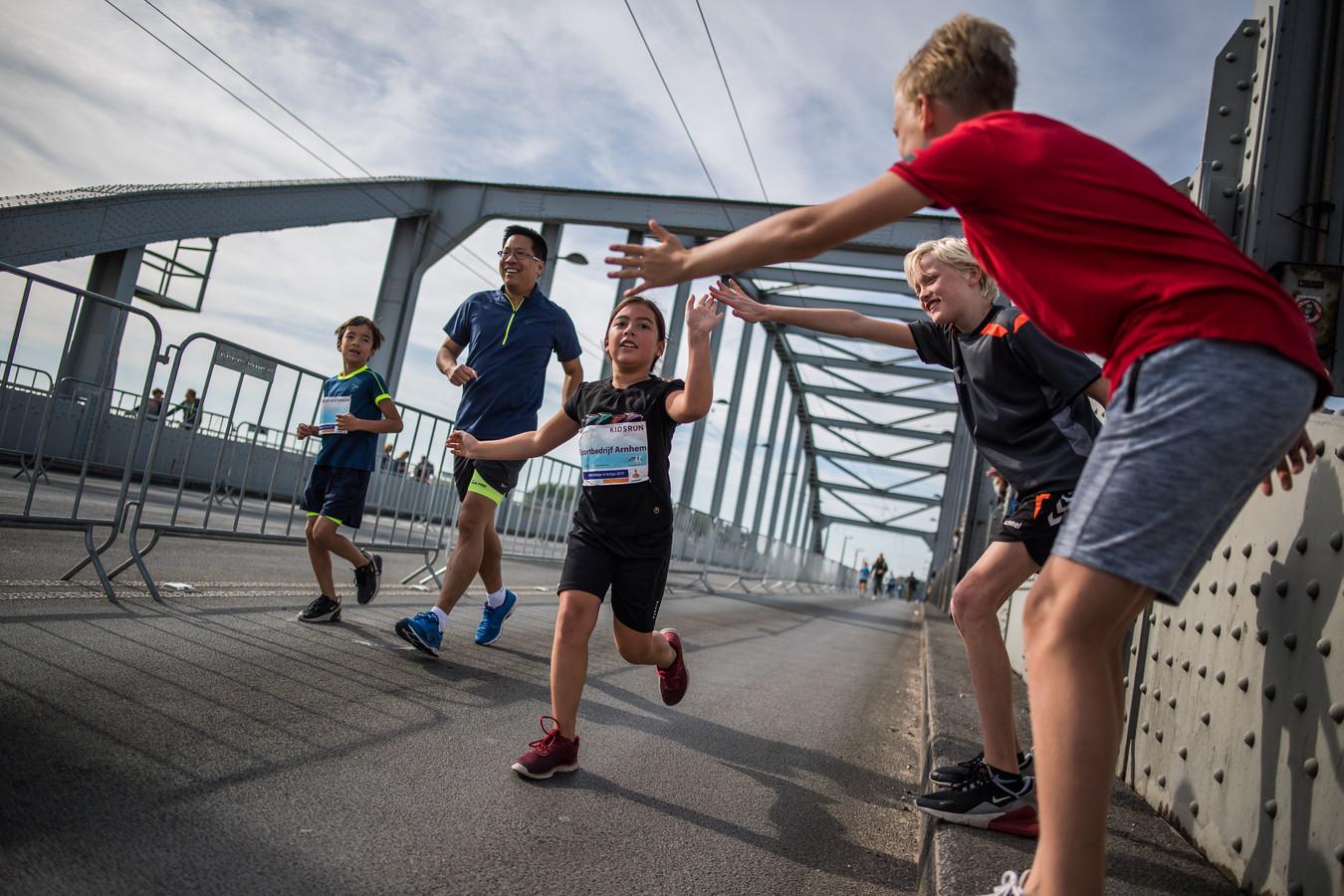 Aanmoedigingen voor de jeugdige (en iets oudere) deelnemers aan de Bridge to Bridge.