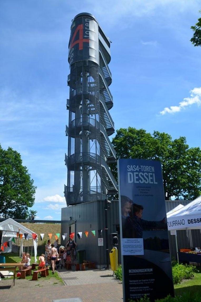 De Sas4-toren in Dessel