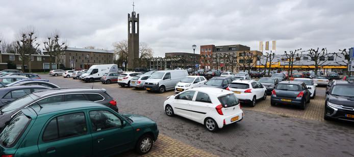 Parkeren op de Markt van Prinsenbeek.