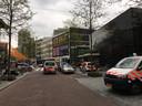 Schietpartij op de Lijnbaan in Rotterdam.