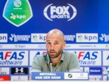 Van der Gaag teleurgesteld in ploeg: 'De bevestiging van wat we in de voorbereiding hebben meegemaakt'