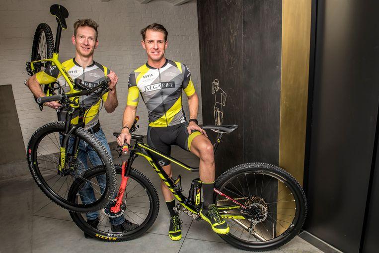 Wouter Peeters en Bart Goudeseune zijn klaar voor de Absa Cape Epic.