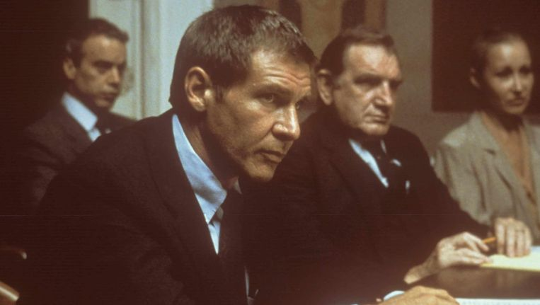 Harrison Ford in Presumed Innocent. Beeld