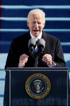 Biden roept op tot eenheid: 'Laten we een frisse start maken, allemaal samen'