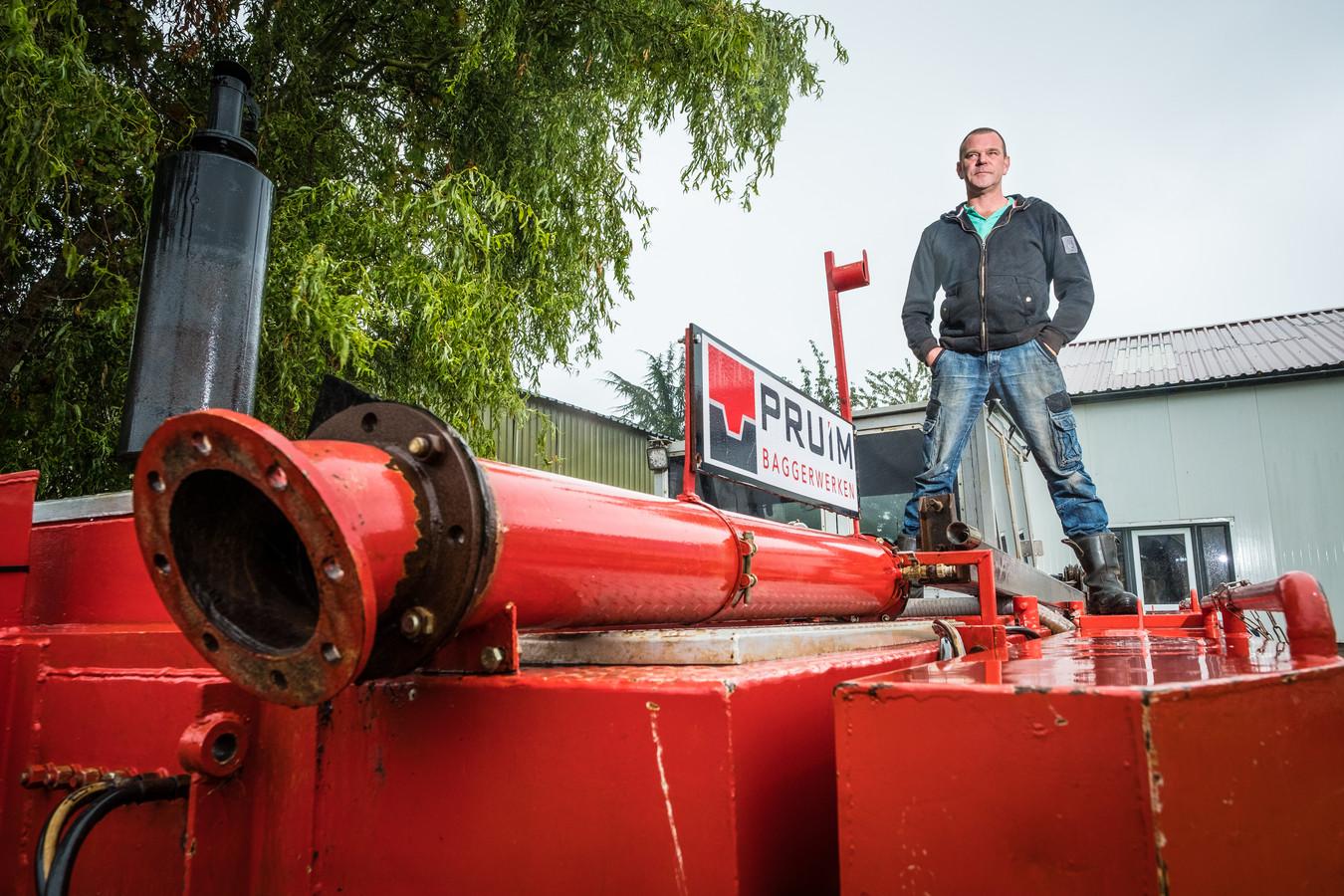 Gerard Pruim merkt de gevolgen van PFAS-regels voor grond. Zijn bedrijf is bijna failliet.
