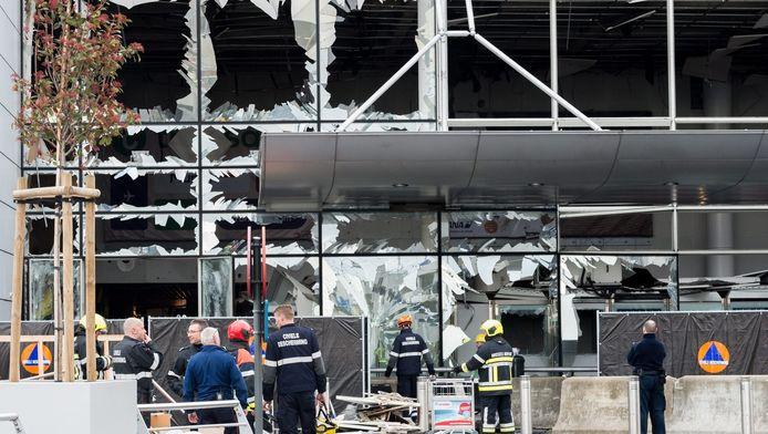 IS eiste de aanslagen op de luchthaven en een metrostation in Brussel op