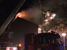 Woningbrand in Enschede: woning tijdelijk onbewoonbaar