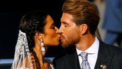 IN BEELD. Voetbalsterren wonen trouwfeest van Sergio Ramos bij (maar moeten straks braafjes gsm opbergen)