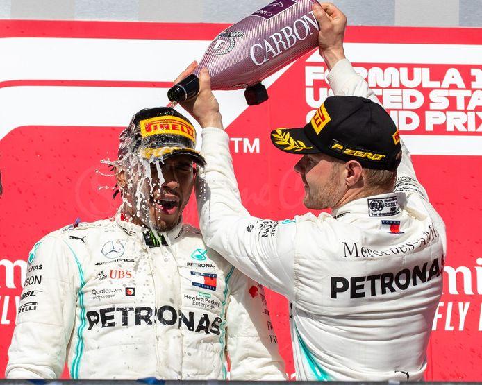 Dix victoires pour Hamilton, quatre pour Bottas: Mercedes a marché sur la concurrence cette saison.
