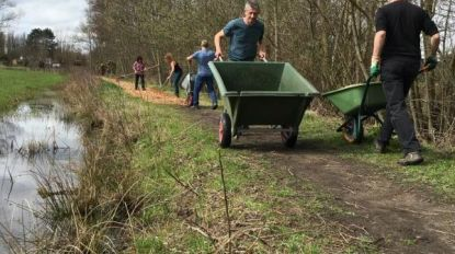 Natuurpunt legt Finse piste aan voor Run-for-Nature