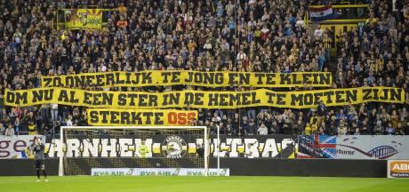 Indrukwekkende minuut stilte tijdens Vitesse-ADO
