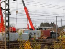 Goederentrein ontspoord in Eindhoven: minder Sprinters tussen Boxtel en Eindhoven door herstelwerkzaamheden