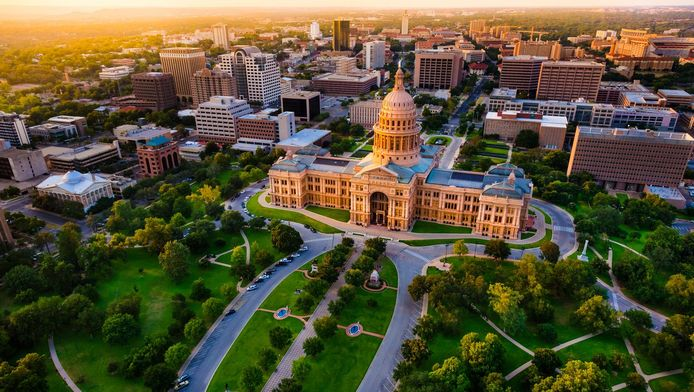 Austin et son Capitole.