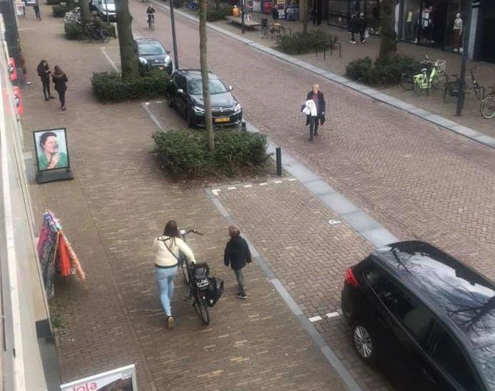 Dorpsstraat in Oisterwijk is voor Spanjaarden nog veel te druk