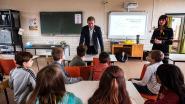 Basisschool De Parel krijgt bezoek van KOTK-campagnegezicht Frank Deboosere