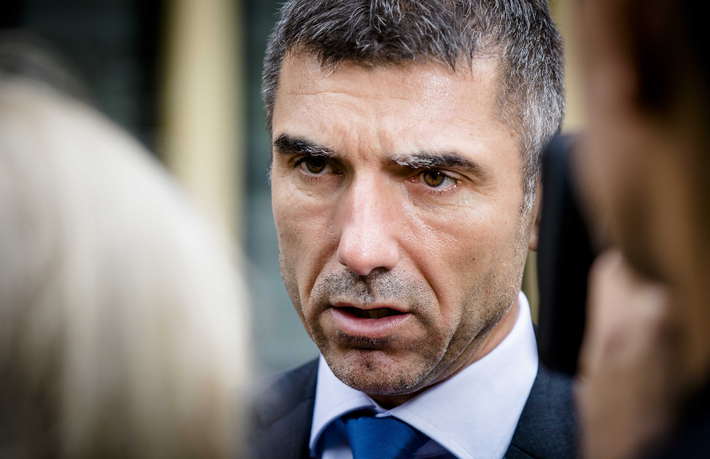 Staatssecretaris Blokhuis van Volksgezondheid.