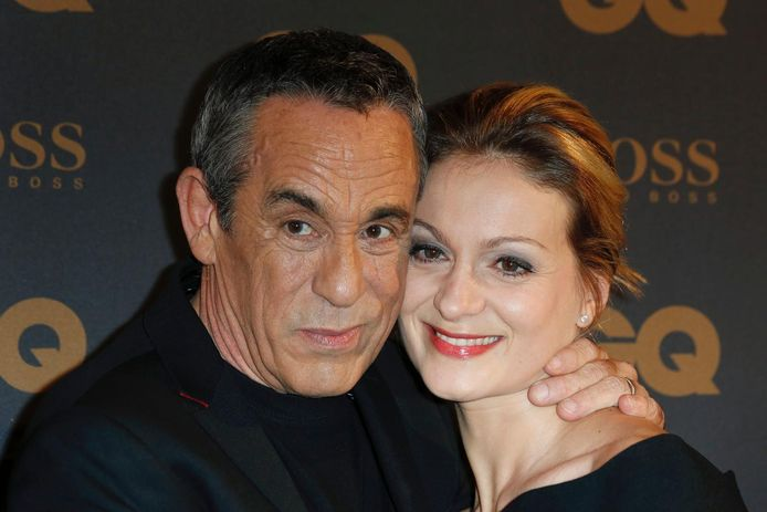 Thierry Ardisson et Audrey Crespo-Mara en 2016.
