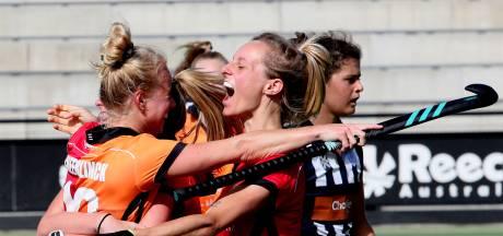Comeback levert Oranje-Rood winst op tegen HDM