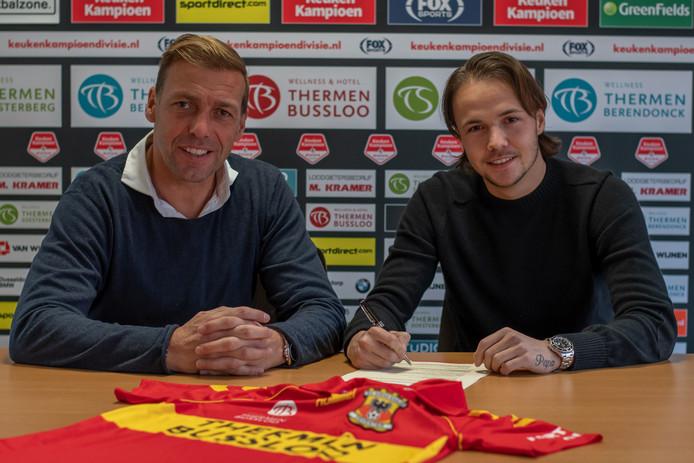 Technisch manager Paul Bosvelt en Vince Gino Dekker.