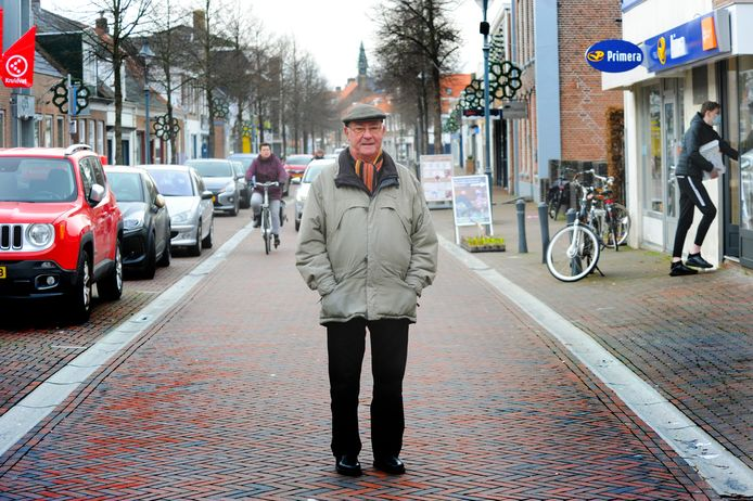 Adrie de Willigen (81) uit Oost-Souburg.