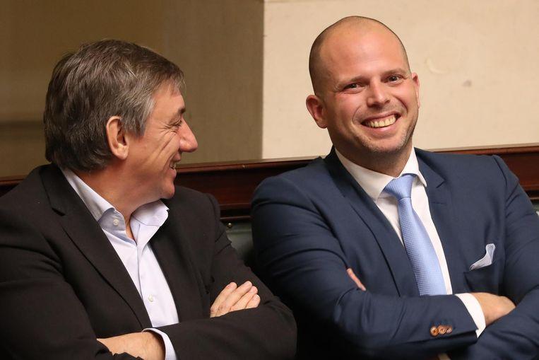 Jan Jambon en Theo Francken.