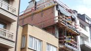 """Topgevel doorboort dak van vakantiewoning in Knokke: """"De slaapkamers, het toilet... Het puin ligt overal"""""""