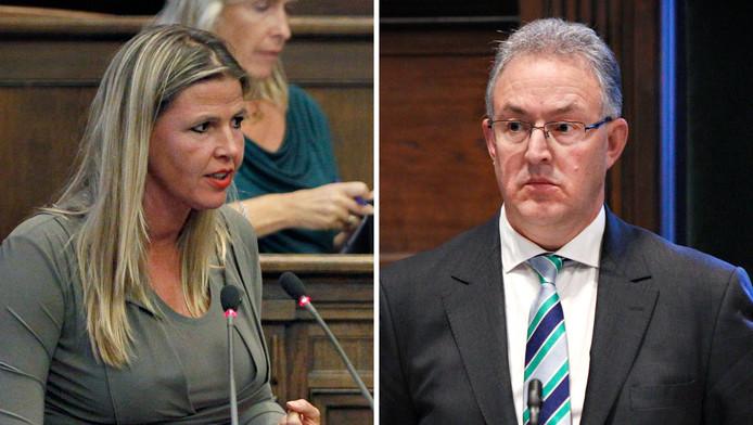 Tanya Hoogwerf (Leefbaar Rotterdam) richt haar pijlen morgen op burgemeester Ahmed Aboutaleb. Wederzijds vertrouwen is de inzet van het debat.