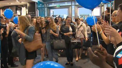 1.100 man in Gent voor opening Primark