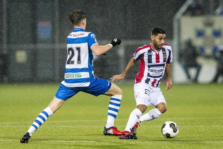 In Zwolle bleef het 0-0. Beeld anp