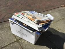 Inzameling oud papier ligt niet overal stil