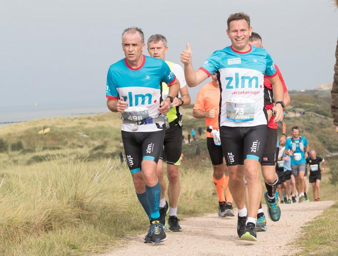 Jo-Annes de Bat debuteerde dit jaar in de Kustmarathon.